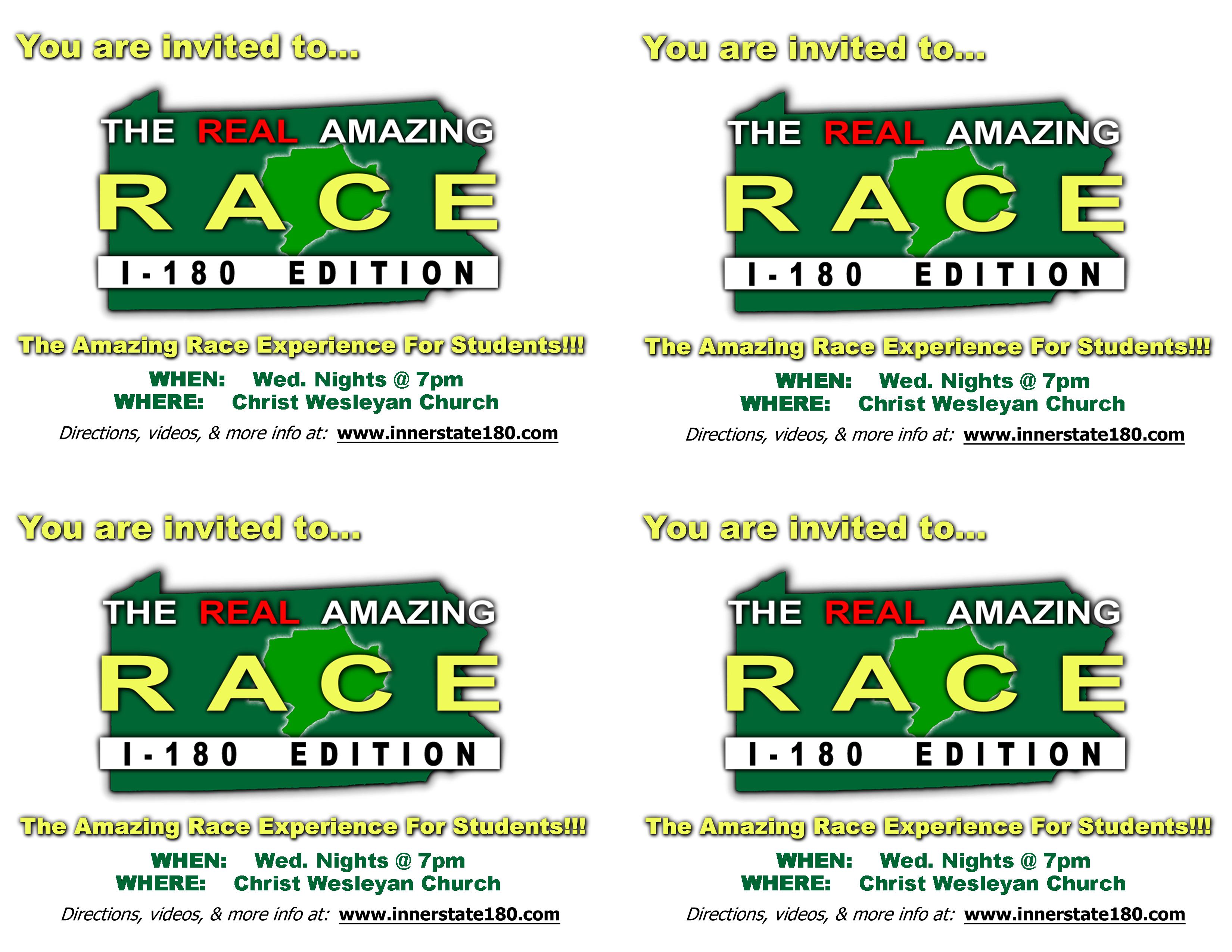 Amazing race birthday invitations party invitations ideas for Amazing race birthday party templates